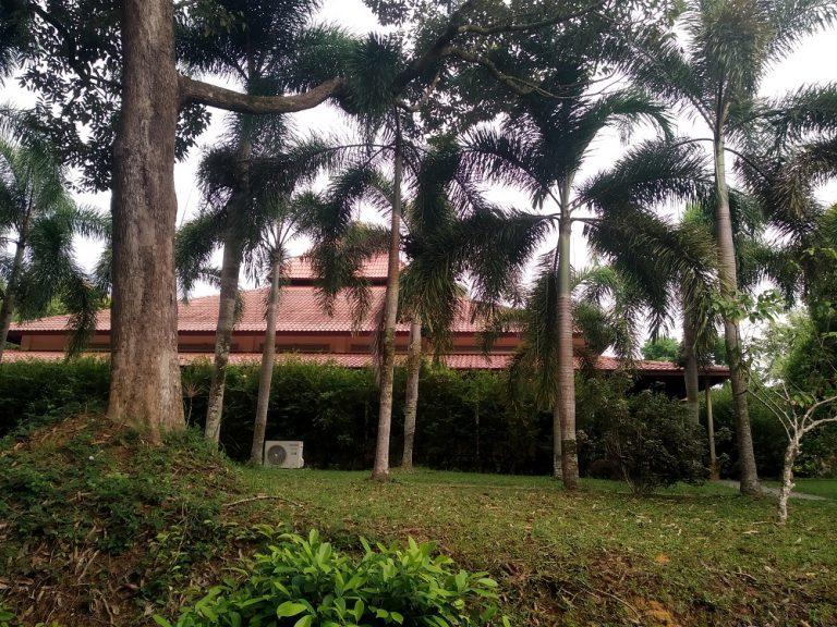 vioew of Dhamma malaya meditation hall